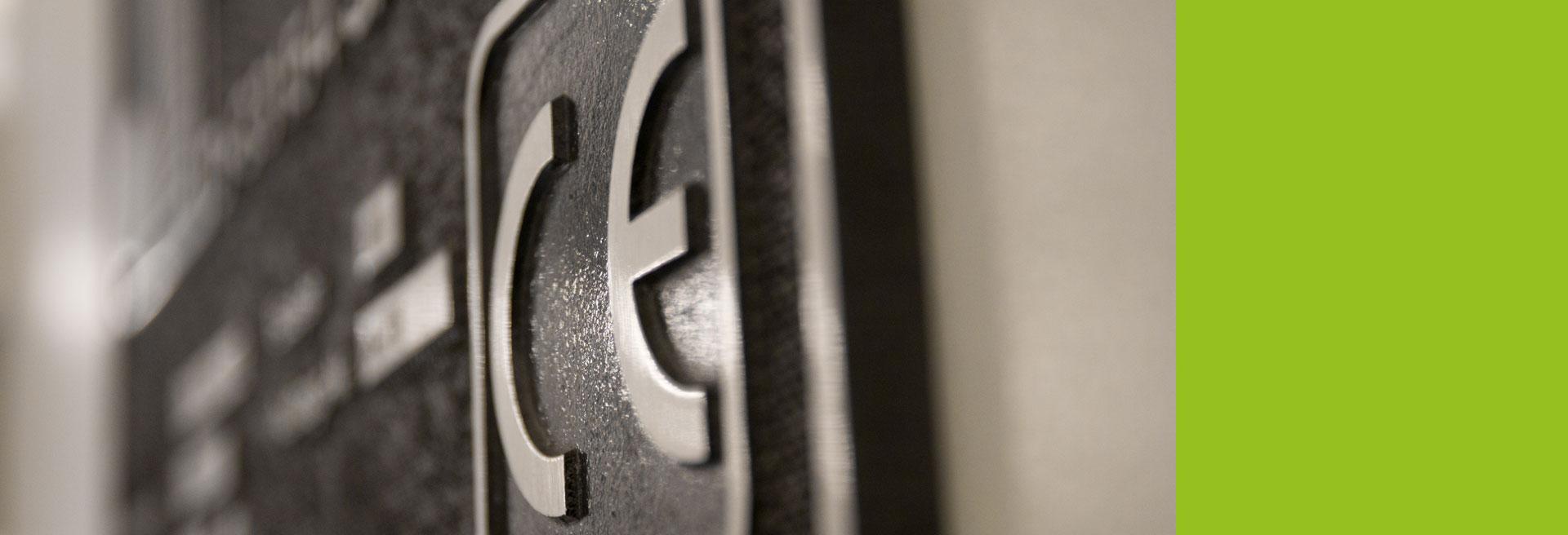 CE-Kennzeichnung CE-Zertifizierung